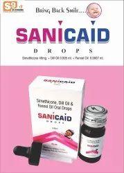 SANIcaid Simethicone Emulsion Dill Oil Fennel Oil USP, 15ml With Dropper, Prescription