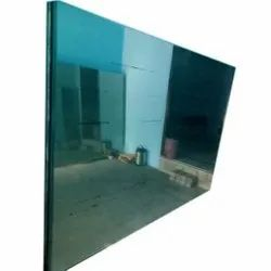 Natural Rectangular Clear Float Glass, Glass Thickness: 10 Mm