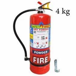 Mild Steel 4Kg DCP Fire Extinguisher, For Office