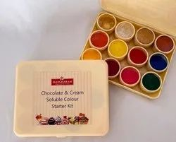 Chocolate and Cream Soluble Color Kit, Packaging Type: Plastic Container