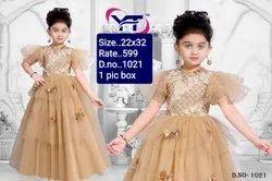 1021 Kids Party Wear Gown