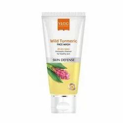 Herbal White VLCC Wild Turmeric Face Wash, 80ml(MRP-148), Packaging Size: 48 Pcs Box