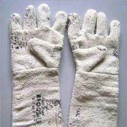 White Asbestos Hand Gloves