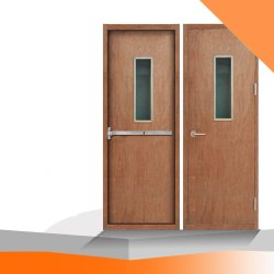 RE228 Wooden Fire Door