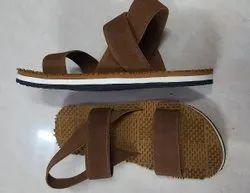 Brown Mens Eva Sandals, Size: 6 Inch