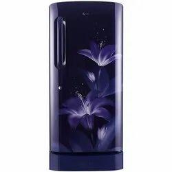 LG 215 L 4 Star Inverter Direct Cool Single Door Refrigerator GL-D221ABGY