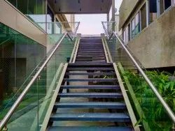 Stairs Stainless Steel Railings System, For Hotel, Wall