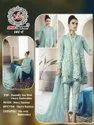 Affan Creation Launch D No 101 Butterfly Net Pakistani Suits