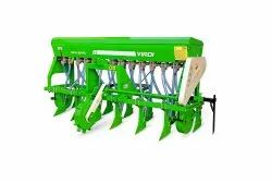 Virdi Tractor Operated Zero Till Seed Drill, Size: 11 T, for Agriculture