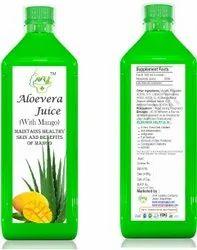 Aloe Vera With Mango Juice