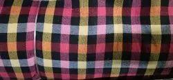 Cotton Check Mattress Fabric, 300, 80 Inches