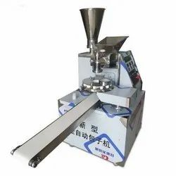 Flour And Mix Veg Momos Making Machine, 2KW, Capacity: 500 To 2000 Pieces Per Hour