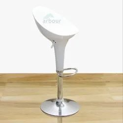 White Bar Stool Chair