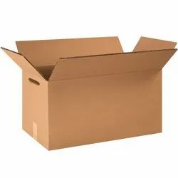 Double Wall 5 Ply Heavy Duty Corrugated Box, Weight Holding Capacity (kg): <25 Kg