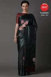 CRAPE PARTY WAER SAREE