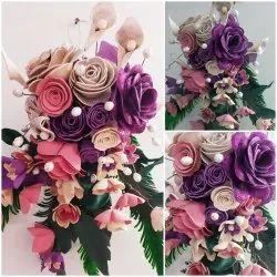Foam Artificial Flower Bouquet