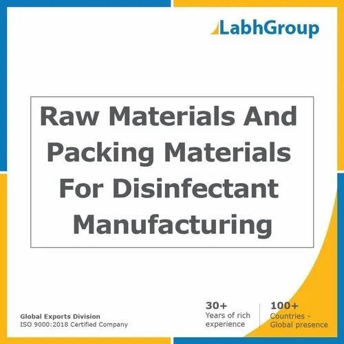 Raw Materials And Packing Materials For Disinfectant Manufacturing