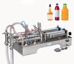 Semi Automatic Sanitizer Filling Machine