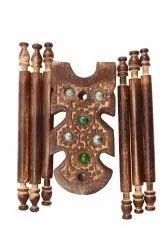 Handicraft Wooden Bangle Stand