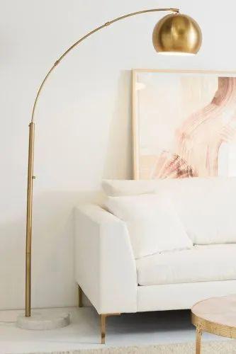 Metal Fluorescent Living Room Floor, Living Room Floor Lamps