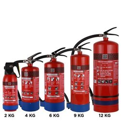SAFE ZONE A B C Dry Powder Type Fire Extinguisher, Capacity: 4Kg