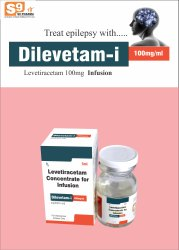 Levetiracitam 100mg/1ml