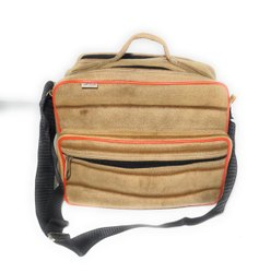 Brown Polyester Sling Tool Carry Bag