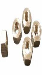 Hexagonal 10 Mm Brass Hex Nut