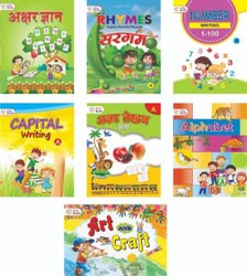 3-5 Education Nursery Book