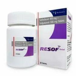 Resof Total Antiviral Drug, 28 Tabs, Treatment: Hepc