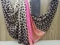 Printed Georgette Saree with Blouse Piece