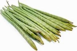 A Grade Green Drumstick Vegetable, Carton, 10 Kg