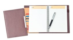 A5 PU Cover Notebooks