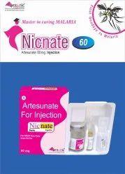 Nicnate Liquid Artesunate Injection, 1x1 Tray Pack, 60 Mg
