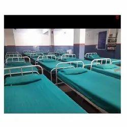 Green Hospital Bed Sheet