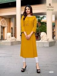 Ladies Flavour Serena Vol 2 Rayon With Embroidery Work Kruti For Girls Collections