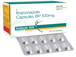 Itraconazole Capsules 100Mg