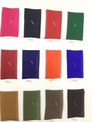 Georgette 60 Gram Fabric-Dyed