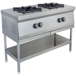SS Two Burner Cooking Range