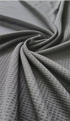 100% Polyester Waffle Knit Fabrics 200 GSM