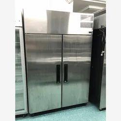 Stainless Steel Double Door Freezer repair, Capacity: 300 L, Refrigerant Used: R134a