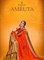 Kalista Fashions Amruta Vichitra Silk Saree Catalog Collection