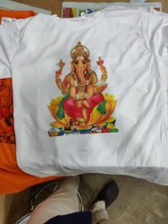 Sarina Men Round Neck 120 GSM T- Shirt ,sublimation.