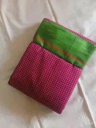 Ladies Karnataka ILkal Patted Anchu Pure Cotton Saree