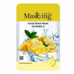 MASKING BEAUTY - VITAMIN C FACIAL SHEET MASK