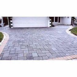 Concrete Paving Block, Thickness: 50 Mm, Shape: Rectangular