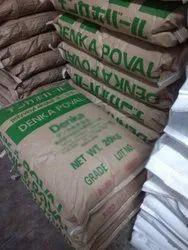 Denka Poval Powder Chemicals, 20 Kg, Jute Bag