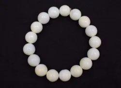 Opal White  Gemstones Handmade Bracelets