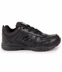 Lotto Black School Shoes.