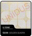 G238-Golden Quadra PVC Laminated Gypsum Ceiling Tiles